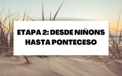 Segunda etapa: Desde Niñons hasta Ponteceso (26,1 KM)