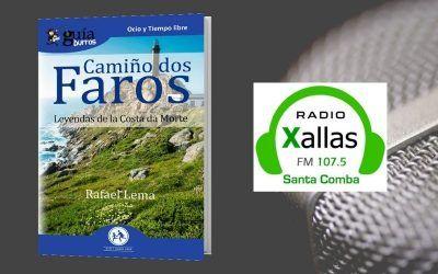 Rafael Lema habla de su libro sobre la Costa da Morte en Radio Xallas
