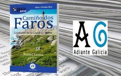 Adiante Galicia ha reseñado este libro sobre el Camino de los Faros