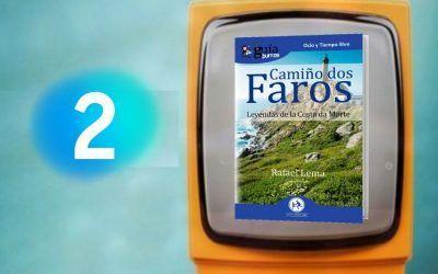 El 'GuíaBurros: Camiño dos Faros' en el programa Página Dos
